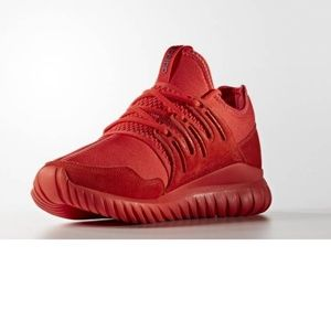 NEW Adidas Mens Adidas Solar Red